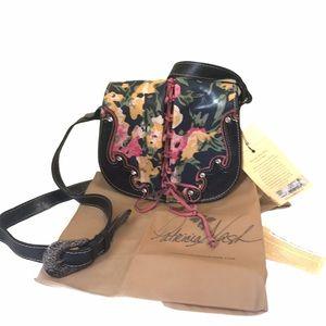 Patricia Nash Secret Garden Leather Crossbody Bag